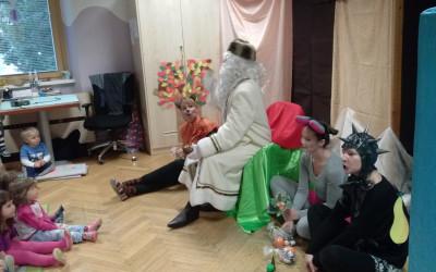 Živali iščejo dedka Mraza – december 2016